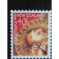 Новая Зеландия  2003 год. Рождество.