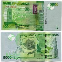 Уганда 5000 шиллингов образца 2013 года UNC p51