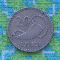 Фиджи 20 центов 1987 года (2). Инвестируй в коллекционирование!!!