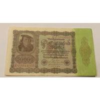 Старт с 1 рубля. 50000 марок 1922 год.