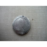 20 копеек 1789 год СПБ  редкая