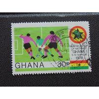 Гана 1978 г. Футбол.
