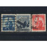 Италия Респ 1945 Вып Демократия Стандарт #694,697,698