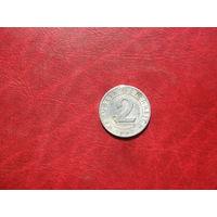 2 гроша 1952 года Австрия