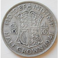 17. Британия пол кроны 1941 год, серебро*