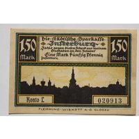 Германия (Notgeld)  1,5 марки 1921 год. (#4)