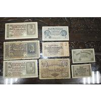 1, 2, 5, 20, 50 марок 1914 г.