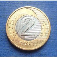 Польша 2 злотых 2018