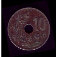 10 сентимос 1925 год Бельгия