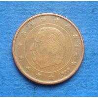 Бельгия 5 евроцентов 1999