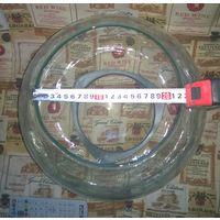 Аквариум 20 литров шаровой СССР круглый на подставке