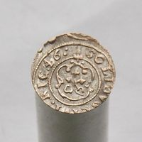 Шиллинг 1646 Рига Кристина Августа Ваза 1632-1654