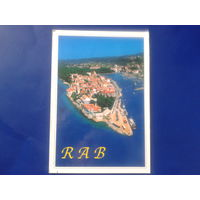 Хорватия 2005 г. Раб прошло почту
