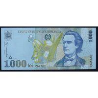Румыния. 1000 лей 1998 [UNC]