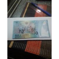 НАМИБИЯ 30 долларов 2020 год/ полимер/