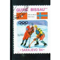 Гвинея-Биссау. Спорт. Хоккей. Олимпийские игры. Сараево. 1984.