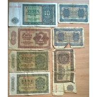 Комплект немецких марок