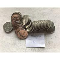 Исландия 34 монеты