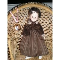 Кукла винтажная. 38 см.
