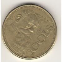 100 песо 1988 г.