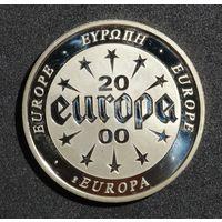 Коллекционная монета из серии-Европа 2000-Первые европейские монеты/Календарь