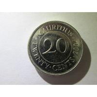 Маврикий 20 центов 2004 г. Распродажа