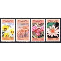 1986 Танзания. Цветы