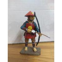 Солдатик НЕ оловянный(военно-историческая миниатюра) самурай Del prado (Дель прадо) Yumi Ashigaru