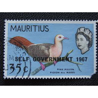 Маврикий 1967г. Птицы.