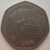 Маврикий 10 рупий 1997 г. Цена за 1 шт. (gl)