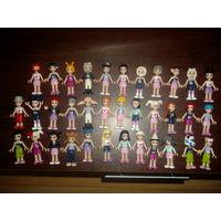 Человечки фигурки из lego friends