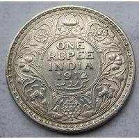 Индия, рупия, 1912, серебро