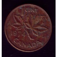 1 цент 1974 год Канада