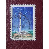 Финляндия 1972г. Космос.