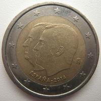 Испания 2 евро 2014 г. Король Филипп VI (a)