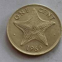 1 цент, Багамские острова (Багамы) 1969 г.