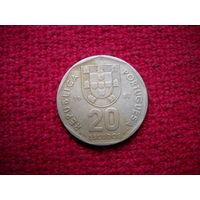 Португалия 20 эскудо 1987 г.