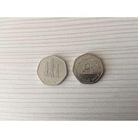 ОАЭ, 50 филсов 2007