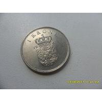 1 крона Дания 1963 год, KM# 851.1 KRONE, из мешка
