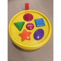 Детская игрушка Ударные звуки Драммашинка Барабаны