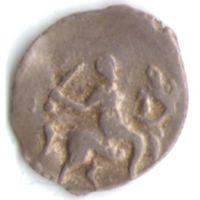 Денга 1535-1547 Иван IV Васильевич (Грозный) чеканка в Твери _состояние ХF+/aUNC
