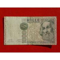 1000 лир 1982г.