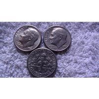 США 10 центов 1988г D. распродажа