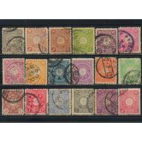 Япония Имп 1899-1906 Императорская хризантема