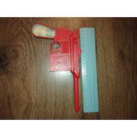 Пистолет игрушечный пластиковый времен СССР
