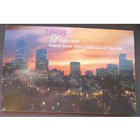 США годовой набор монет 2008г. Денвер.
