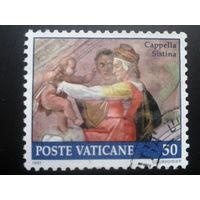 Ватикан 1991 фреска