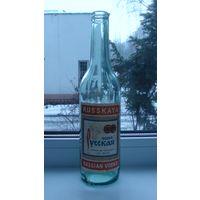 """Бутылка с этикеткой """"Русская Водка"""".Клеймо"""