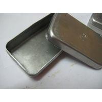 Футляр алюминиевый для шприца с бортиком и клеймом 104х60х28, цена 1шт