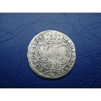 6 грошей (шостак) 1666 (4)